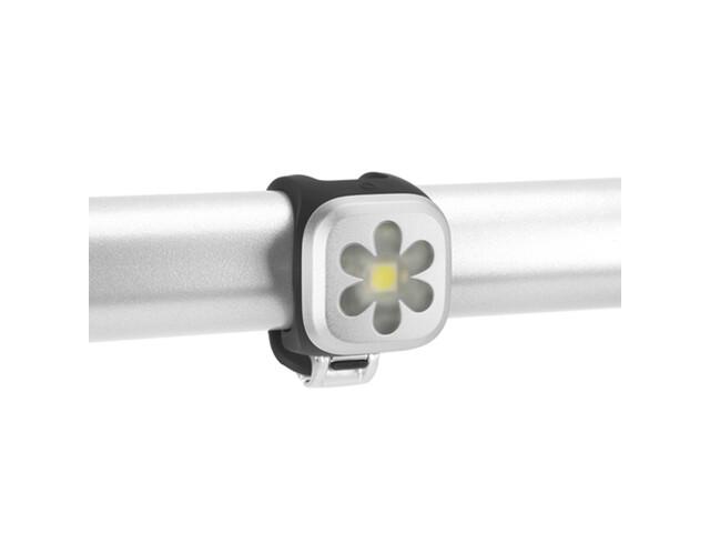 Knog Blinder 1 weiße LED Flower silber